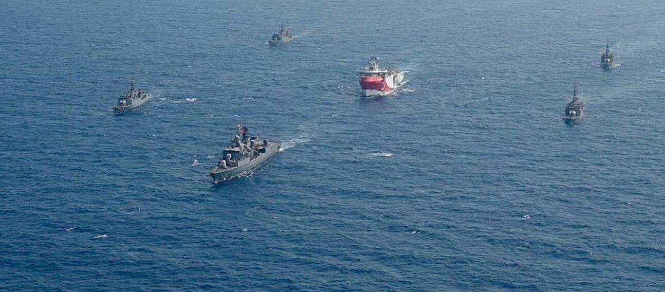 ΕΚΤΑΚΤΟ: Ξεκινά η «πολιορκία» του Καστελορίζου – Οι Τούρκοι εκδίδουν NAVTEX για έρευνες επί των Ε.Χ.Υ.