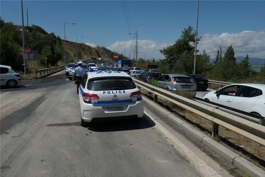 Χαλκιδική: Φεύγουν οι τουρίστες μετά τη θεομηνία! (pic)