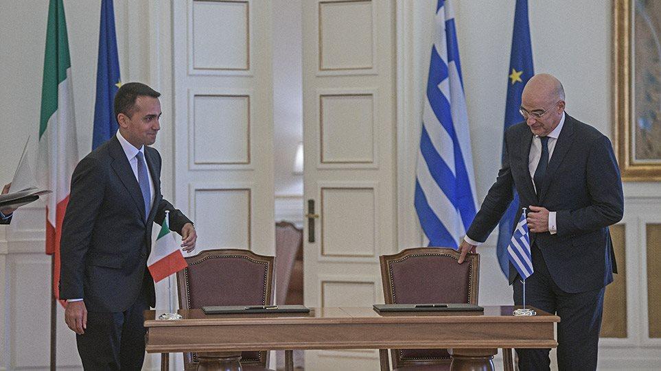 Τι περιλαμβάνει η συμφωνία Ελλάδας – Ιταλίας για την οριοθέτηση θαλασσίων ζωνών! (BINTEO)