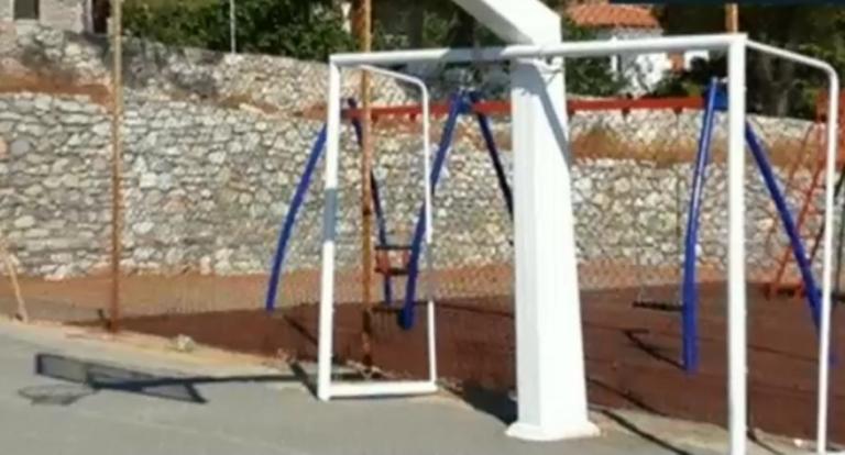 Σπάρτη: Σιδερένιο τέρμα καταπλάκωσε 10χρονο – Νοσηλεύεται στο νοσοκομείο! (ΒΙΝΤΕΟ)