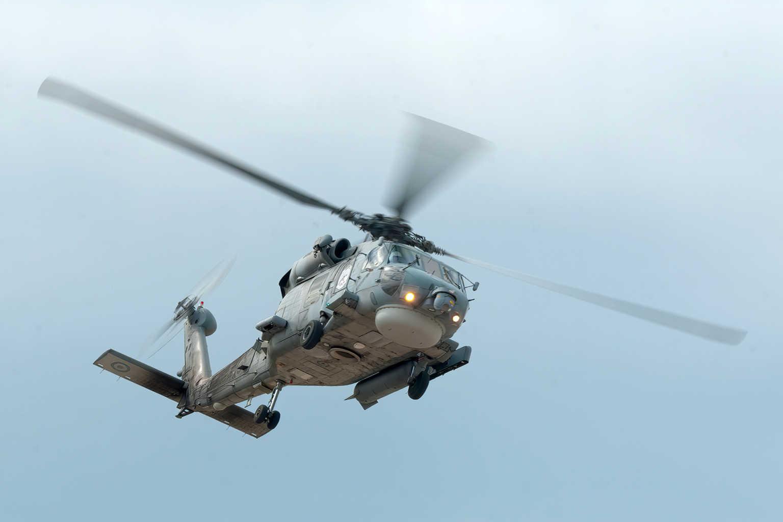 Συνετρίβη το ελικόπτερο του ΝΑΤΟ ανοικτά της Κεφαλονιάς – Αγνοείται το πλήρωμα