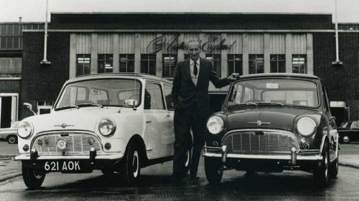 Αυτός είναι ο Έλληνας που σχεδίασε το θρυλικό αυτοκίνητο «Μίνι»… (ΒΙΝΤΕΟ)