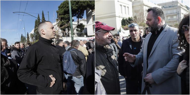 Εδιωξαν Κασιδιάρη και Λαγό από την πορεία για το μεταναστευτικό -«Εξω οι φασίστες» φώναζαν διαδηλωτές! (ΒΙΝΤΕΟ)