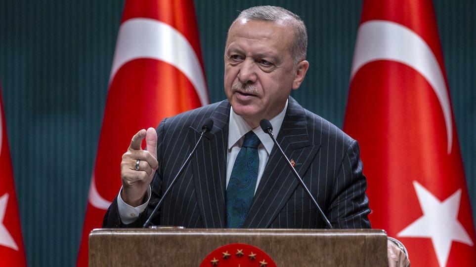 """""""Οι Έλληνες θα καταστραφούν""""! Το βίντεο των εμπρηστικών δηλώσεων Ερντογάν"""