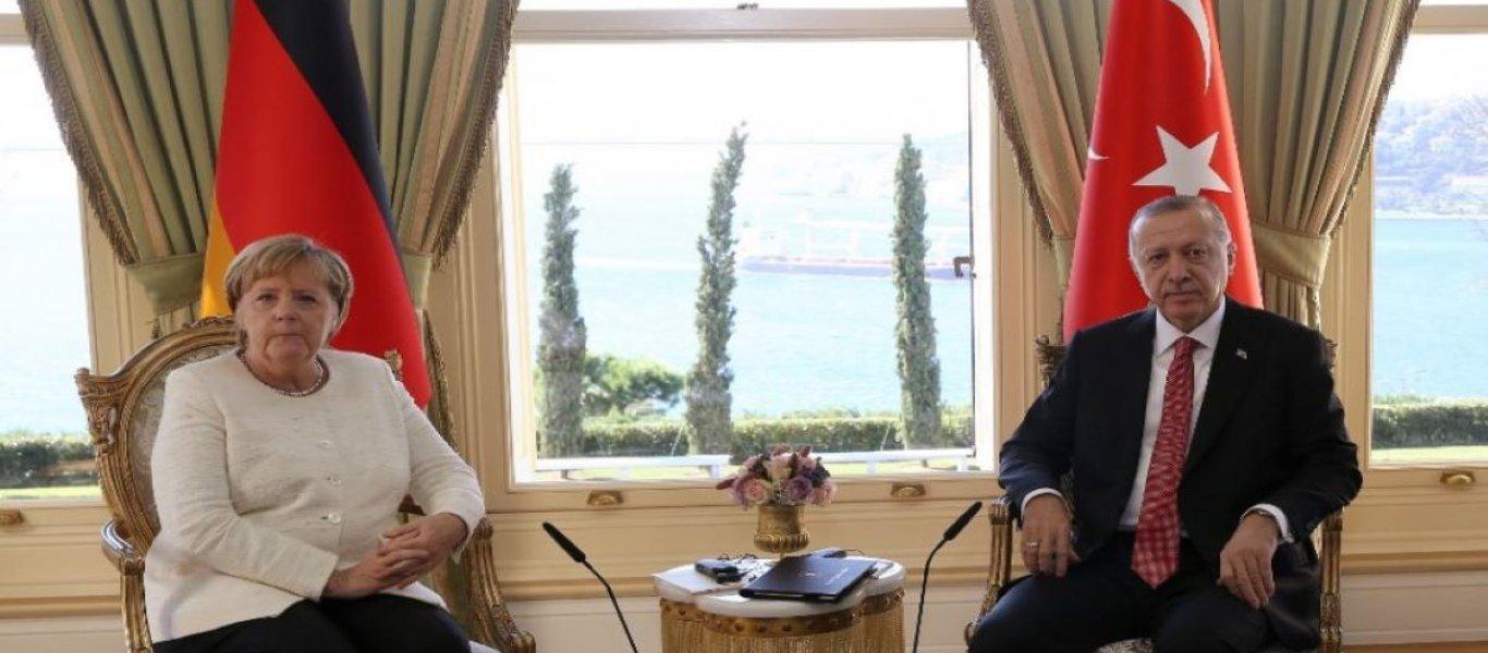 «Ο Ερντογάν ζήτησε από την Μέρκελ να αποκλειστεί η Ελλάδα από τη διάσκεψη του Βερολίνου» – Όλα «στημένα»