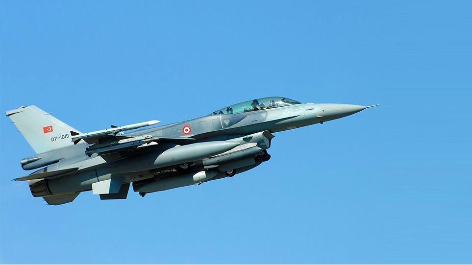 Τουρκικές προκλήσεις: Πάνω από τη Ρόδο πέταξαν τρία τουρκικά F-16
