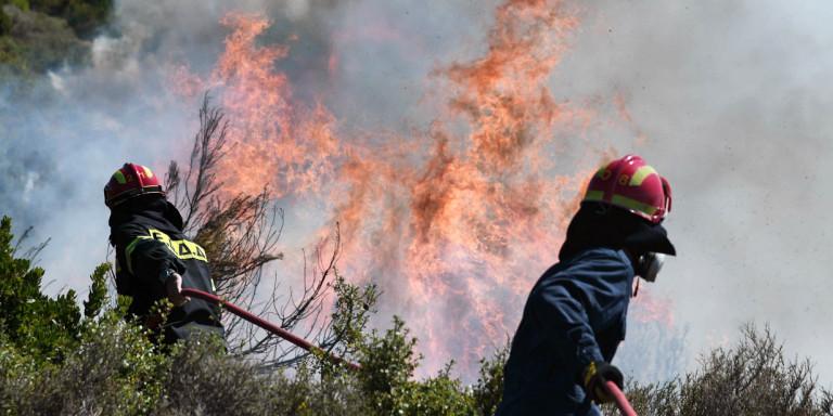 Πολύ υψηλός ο κίνδυνος πυρκαγιάς και την Πέμπτη