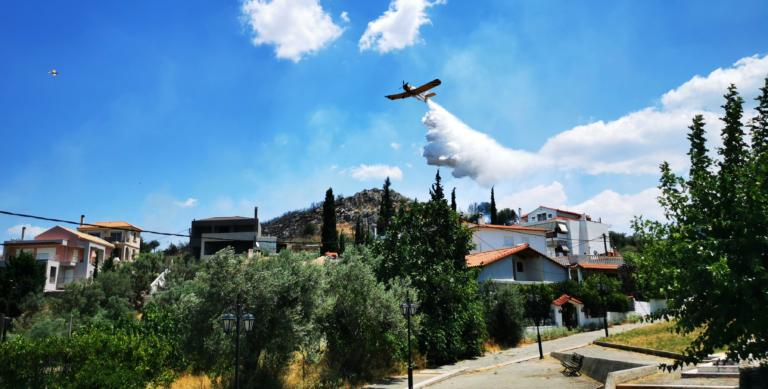 Φωτιά κοντά σε οικισμό στο Ηράκλειο – Συνελήφθη απόστρατος για εμπρησμό στο Ρέθυμνο!