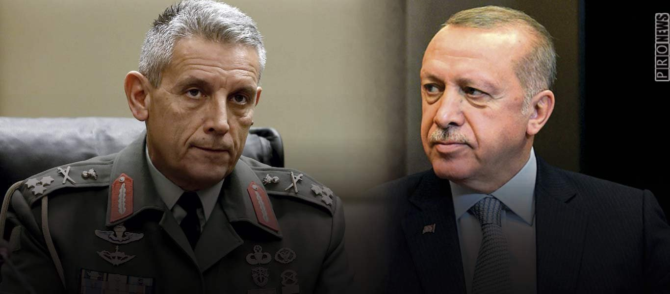Α/ΓΕΕΘΑ Κ.Φλώρος: «Ο Ερντογάν είναι μεγάλος ηγέτης αλλά όποιος πατήσει το πόδι του σε ελληνικό έδαφος θα τον κάψουμε»