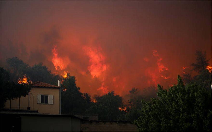Εκτός ελέγχου η φωτιά στην Εύβοια – Εκκενώθηκαν τέσσερα χωριά! (ΒΙΝΤΕΟ)