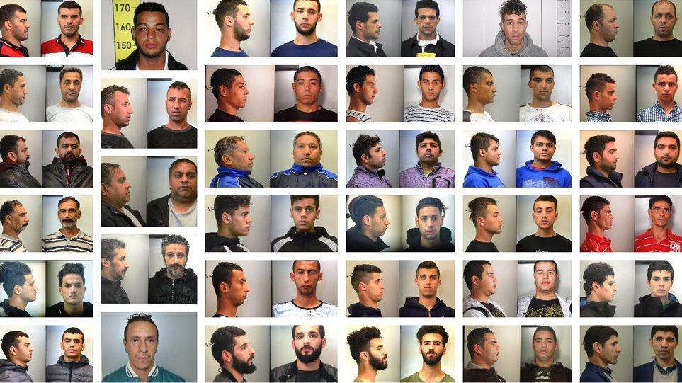 Αυτά είναι τα 35 μέλη της σπείρας που ξάφριζαν πεζούς στο κέντρο της Αθήνας! Στη δημοσιότητα φωτογραφίες και ονόματα από την ΕΛΑΣ!