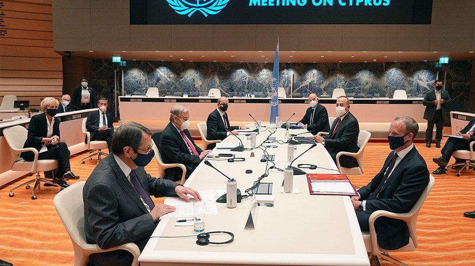 Κυπριακό: Αδιέξοδο στην πενταμερή της Γενεύης – Νέα σύνοδος σε 2-3 μήνες