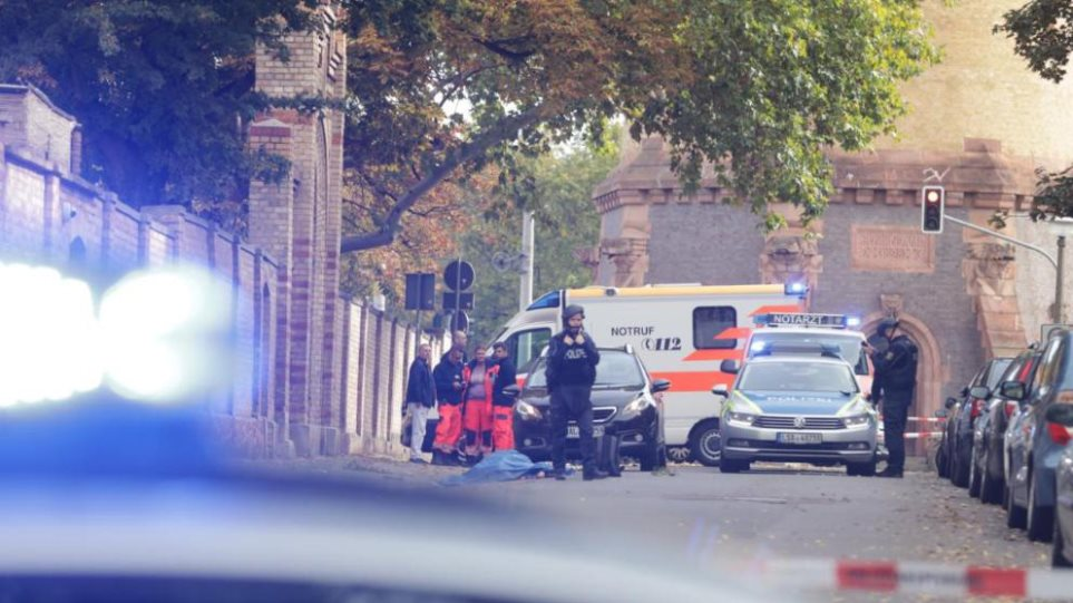 Γερμανία: Τουλάχιστον δύο νεκροί και πολλοί τραυματίες από πυροβολισμούς σε συναγωγή και εστιατόριο! Για οργανωμένη επίθεση μιλούν οι αρχές! (φωτο&βιντεο)