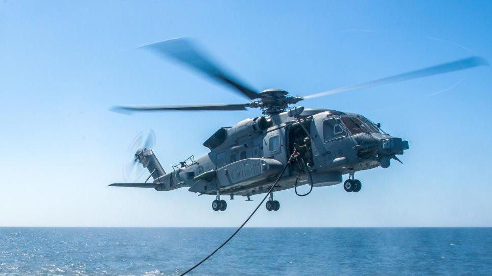 Ελικόπτερο του ΝΑΤΟ κατέπεσε ανοιχτά της Κεφαλονιάς! Ένας ΝΕΚΡΟΣ και πέντε αγνοούμενοι