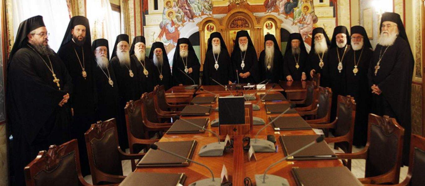 Ιερά Σύνοδος κατά Αμβρόσιου: «Δεν στέκουν οι αφορισμοί του – Μόνο η Ολομέλεια Μητροπολιτών μπορεί να το κάνει»