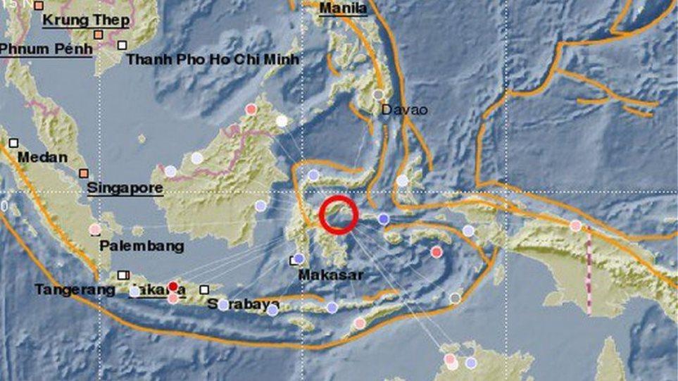 Σεισμός 6,8 Ρίχτερ στην Ινδονησία – Προειδοποίηση για τσουνάμι