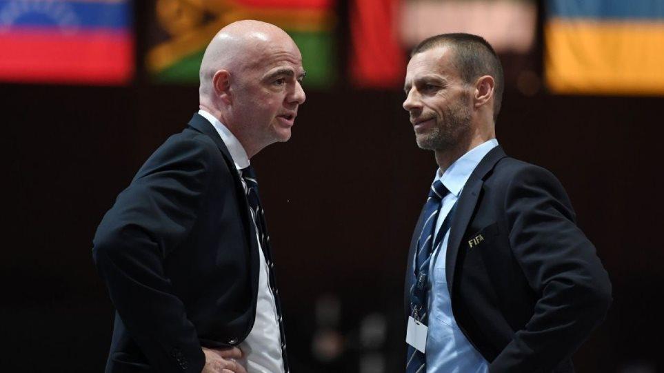 Ποδόσφαιρο: Στην Αθήνα ο πρόεδρος της UEFA – «Ναι» από τη FIFA στη συνεργασία με την κυβέρνηση