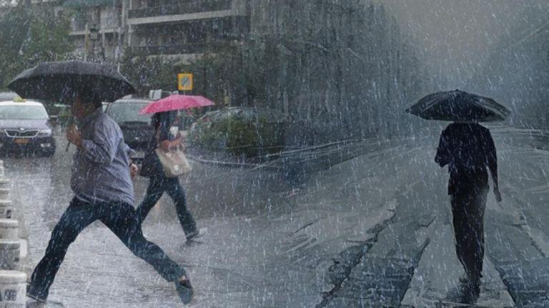 Εκτακτο δελτίο επιδείνωσης καιρού από την ΕΜΥ: Ερχονται καταιγίδες και χαλάζι…