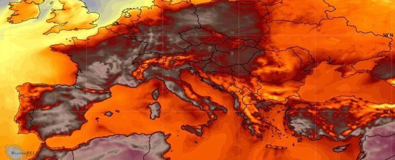 Καύσωνας – Ευρώπη: «Η κόλαση είναι εδώ» – 45άρια σε Γαλλία, Ισπανία και Πορτογαλία!