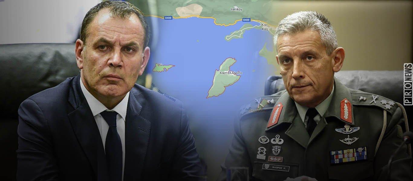 Ματαιώθηκε επίσκεψη ΥΕΘΑ & Α/ΓΕΕΘΑ στο Καστελόριζο «για να μην προκληθούν οι Τούρκοι»: Τι καταγγέλλει στέλεχος της ΝΔ!
