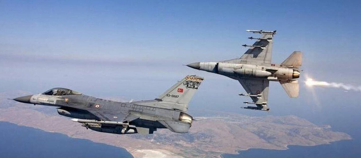 «Φωτιά» στο Αιγαίο: Τουρκικά μαχητικά «εισβάλουν» από το πρωί – Με NAVTEX η Άγκυρα «περικυκλώνει» το Καστελόριζο!