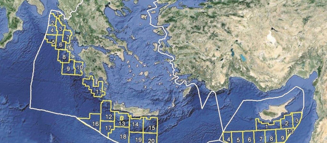 Το μεγαλύτερο ποσοστό της ΑΟΖ του Καστελόριζου παραχωρεί η Αθήνα στο Κάιρο!