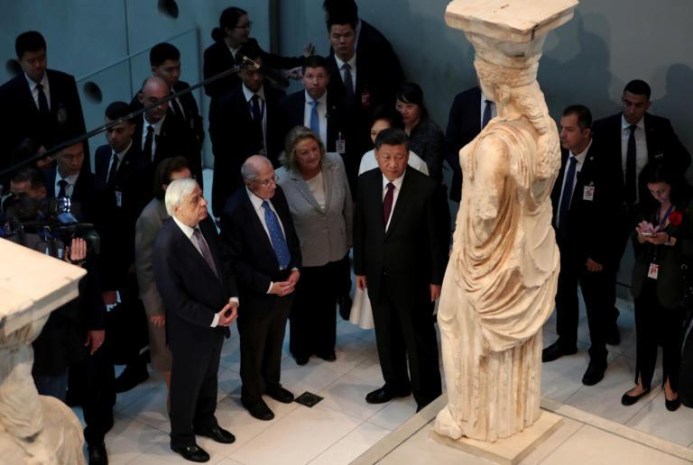 Έδωσε όρκο μπροστά στις Καρυάτιδες! Σι Τζινπίνγκ: Είμαστε στο πλευρό σας για την επιστροφή των Γλυπτών – Πως τον αποχαιρέτισε ο Π. Παυλόπουλος!