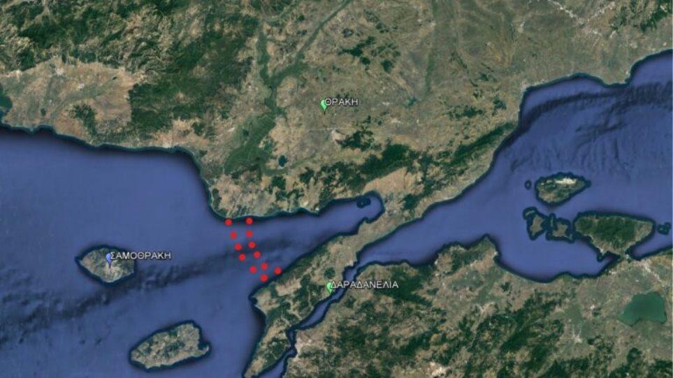 Συγκέντρωση του τουρκικού στόλου στον Κόλπο του Ξηρού – Σε εγρήγορση οι ΕΔ στον Έβρο