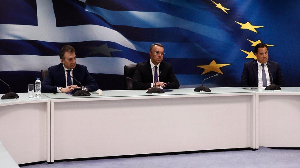 Κορωνοϊός-μέτρα: Αναστέλλεται η πληρωμή φόρων, €800 ευρώ σε εργαζόμενους, απαγορεύονται οι απολύσεις! (BINTEO)