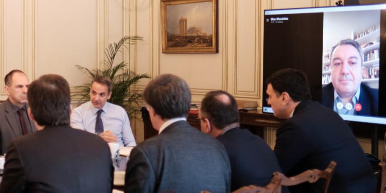 Κορωνοϊός: Ο Ηλίας Μόσιαλος εκπρόσωπος της Ελλάδας στους διεθνείς οργανισμούς