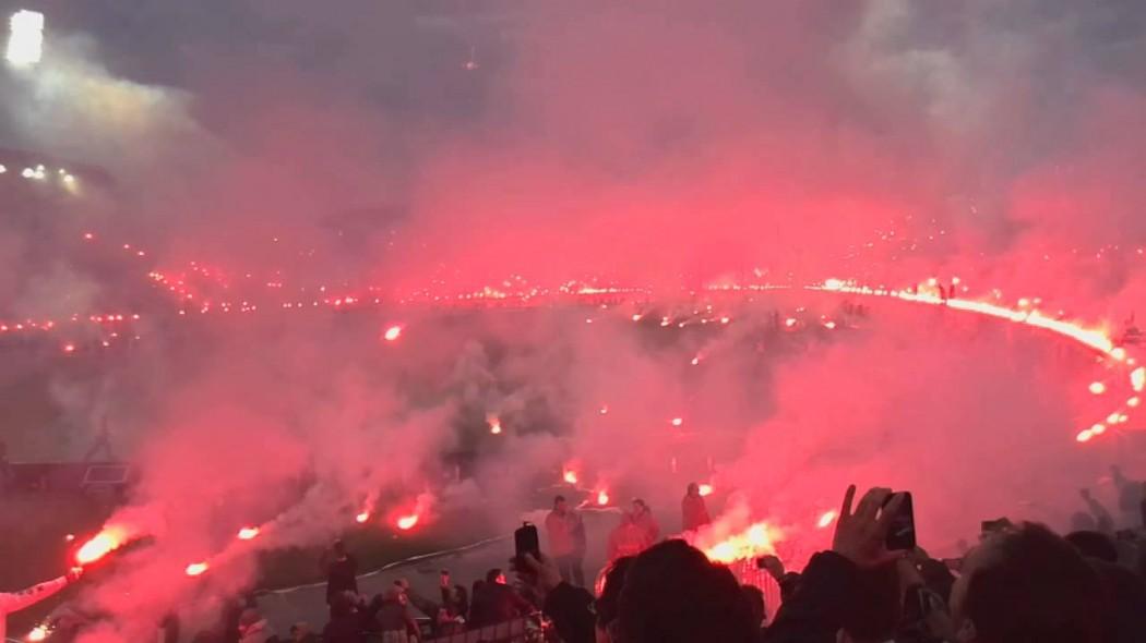 «Φινάλε» με το μεγαλύτερο pyroshow στην ιστορία της Τούμπας!