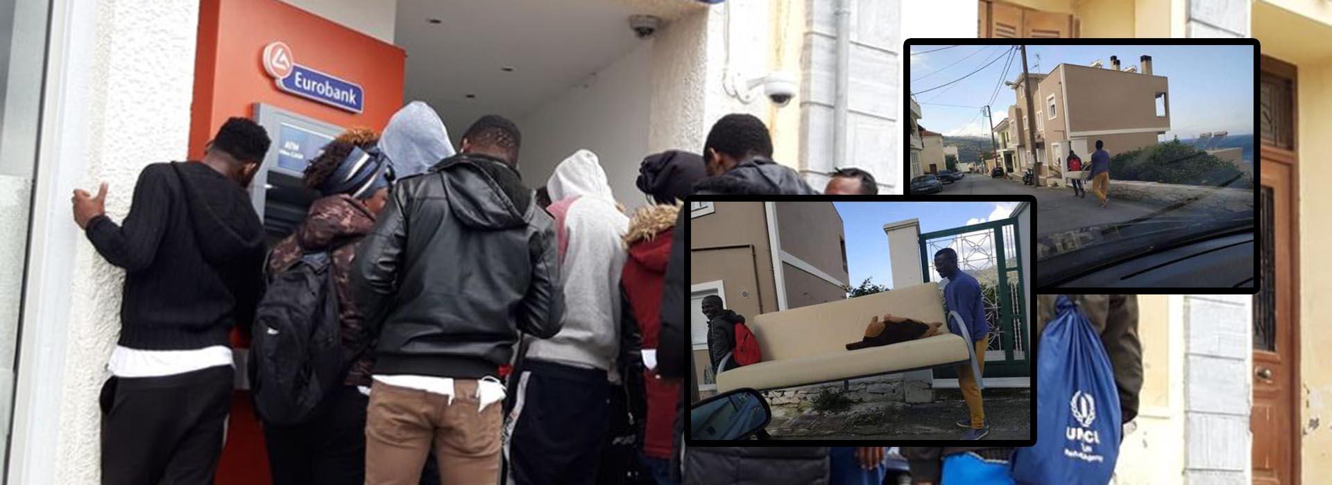 Οι μετανάστες αν και παίρνουν επιδόματα… κάνουν «πλιάτσικο» σε ξενοδοχεία και βάζουν φωτιά σε ποιμνιοστάσιο! (φωτο&βιντεο)