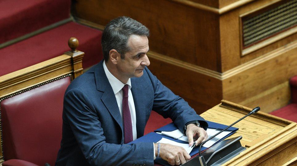 Ο Μητσοτάκης επέστρεψε στην Αθήνα για τις φωτιές