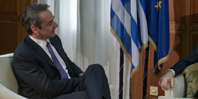 Γύρο επαφών με τους πολιτικούς αρχηγούς ξεκινά ο Κυριάκος Μητσοτάκης -Στις 18:00 αύριο με τον Τσίπρα, με βιντεοκλήση