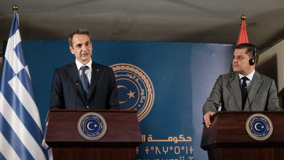 Το δίλημμα Μητσοτάκη στην κυβέρνηση της Τρίπολης: Ακύρωση του τουρκολιβυκού μνημονίου για ομαλοποίηση σχέσεων με την ΕΕ