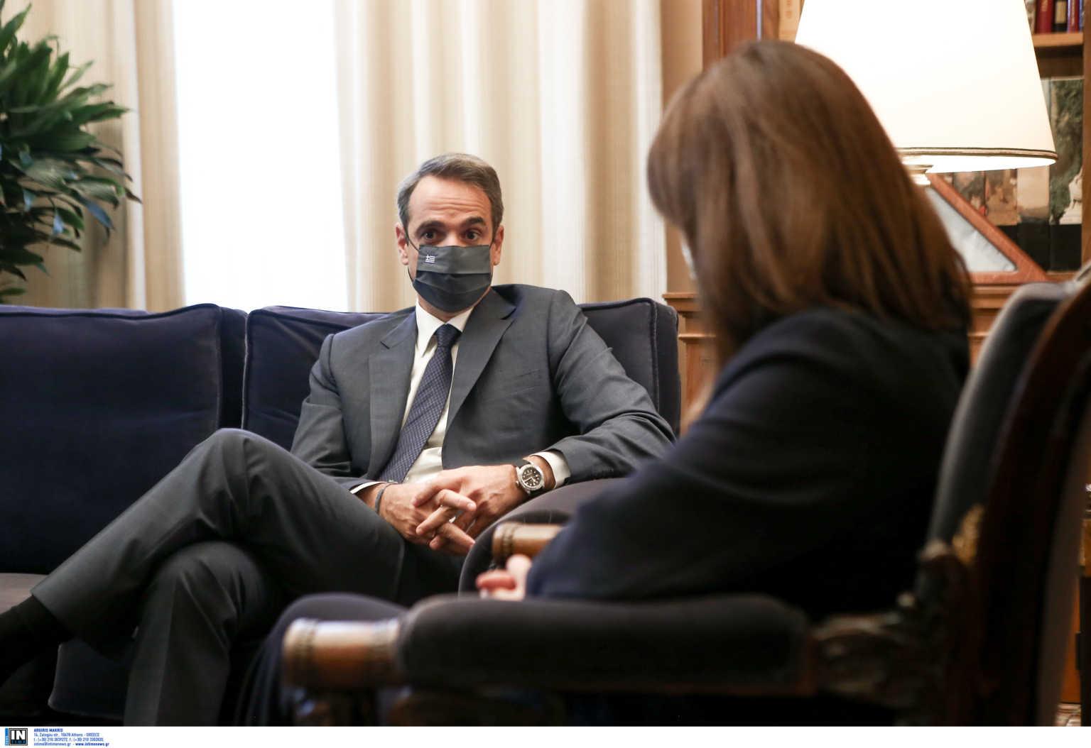 Μητσοτάκης: Θα απευθύνω μήνυμα το απόγευμα στον ελληνικό λαό για την κατάσταση με τον κορωνοϊό