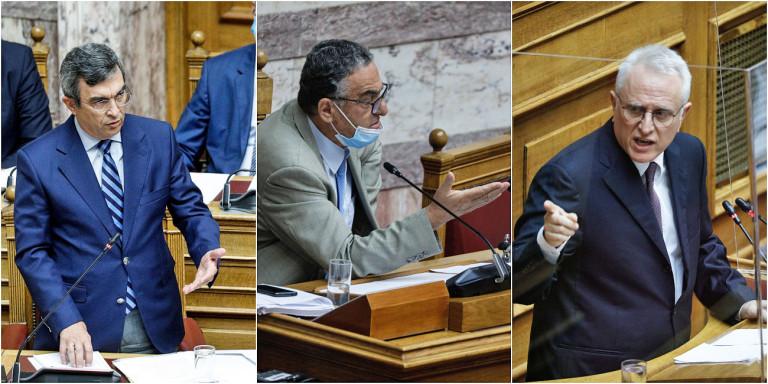 Υψηλοί τόνοι στη Βουλή για τη Μόρια: «Εξερράγη» η ΝΔ με τη δήλωση Ραγκούση ότι η κυβέρνηση είναι ο εμπρηστικός μηχανισμός