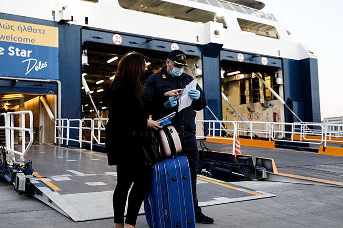Ελεύθερη η μετακίνηση στα νησιά εργαζομένων σε επιχειρήσεις που επαναλειτουργούν