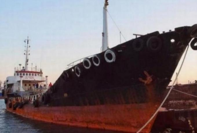Ημιβυθίστηκε το ναρκοπλοίο Noor1