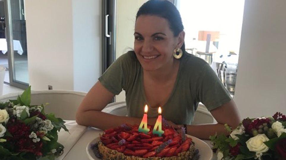 Στην Κρήτη γιόρτασε τα γενέθλιά της η Κεφαλογιάννη! Έσβησε τα κεράκια σε τούρτα με μήνυμα …Όλγα δαγκωτό! (φωτο)