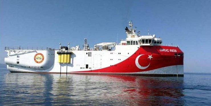Τσαβούσογλου: Καθ' οδόν προς Ανατολική Μεσόγειο και το «Oruc Reis»