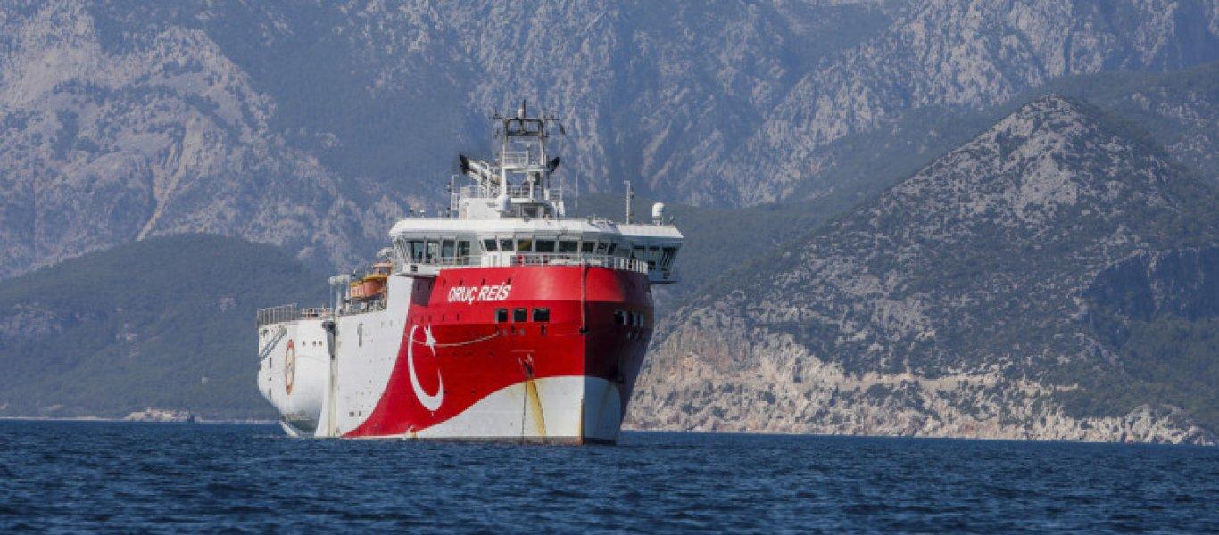 Τουρκικό ΥΠΕΞ: «Το Oruc Reis πραγματοποιεί έρευνες στην τουρκική υφαλοκρηπίδα – Ελάτε σε διάλογο»