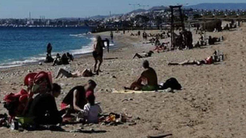 Κορωνοϊός – Παραλίες: Ξανά έξω οι Αθηναίοι! Παρά τα μέτρα, παρά τις εκκλήσεις να μείνουμε σπίτι… κάποιοι δεν βάζουν μυαλό! Δείτε εικόνα σήμερα από Φάληρο! (ΦΩΤΟ)