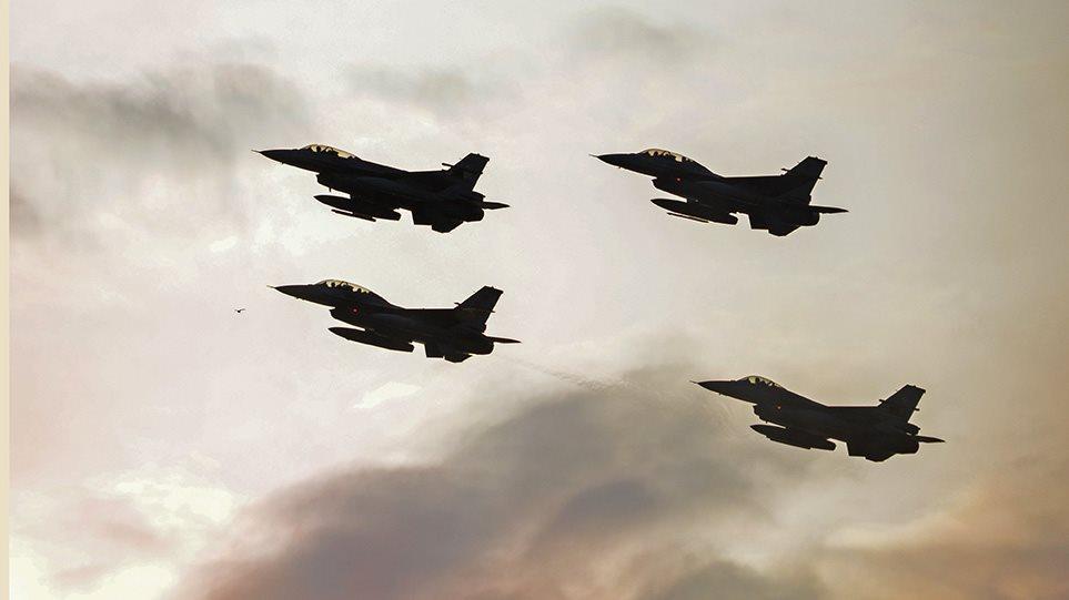 Μπαράζ τουρκικών προκλήσεων με 69 παραβιάσεις, υπερπτήσεις και εικονικές αερομαχίες!