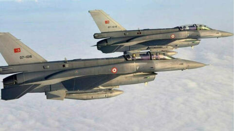 «Χτύπησε κόκκινο» η τουρκική προκλητικότητα: 91 παραβιάσεις του εναέριου χώρου