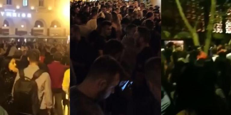 Κορωνοϊός-Θεσσαλονίκη: Πάρτι με 1.500 άτομα στο ΑΠΘ, εικόνες απίστευτου συνωστισμού -Xαμός και στην Αριστοτέλους! (βιντεο)