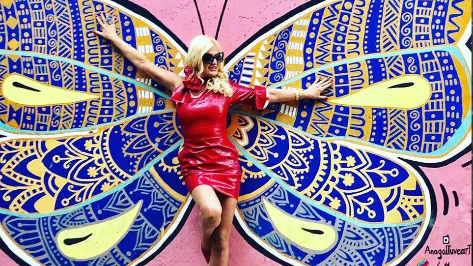 Η Μαρίνα Πατούλη… ανοίγει τα φτερά της! (ΦΩΤΟ)