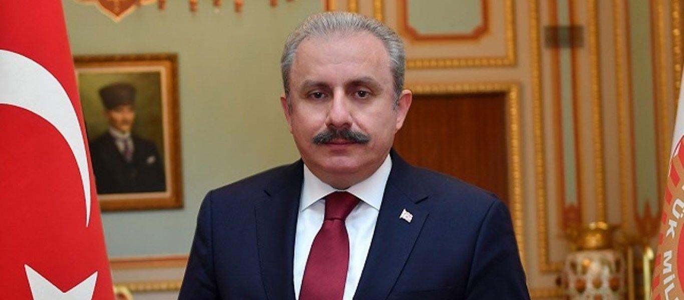 Στη γραμμή Ερντογάν ο πρόεδρος της τουρκικής Βουλής: «Η Ελλάδα είναι κράτος εγκληματίας»!