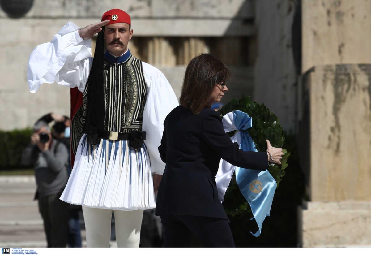 Επέτειος 25ης Μαρτίου: Mirage και ελικόπτερα στο Σύνταγμα – «Η Ελλάδα πάντα έβγαινε πιο δυνατή» – Δείτε το ΣΥΓΚΙΝΗΤΙΚΟ βίντεο