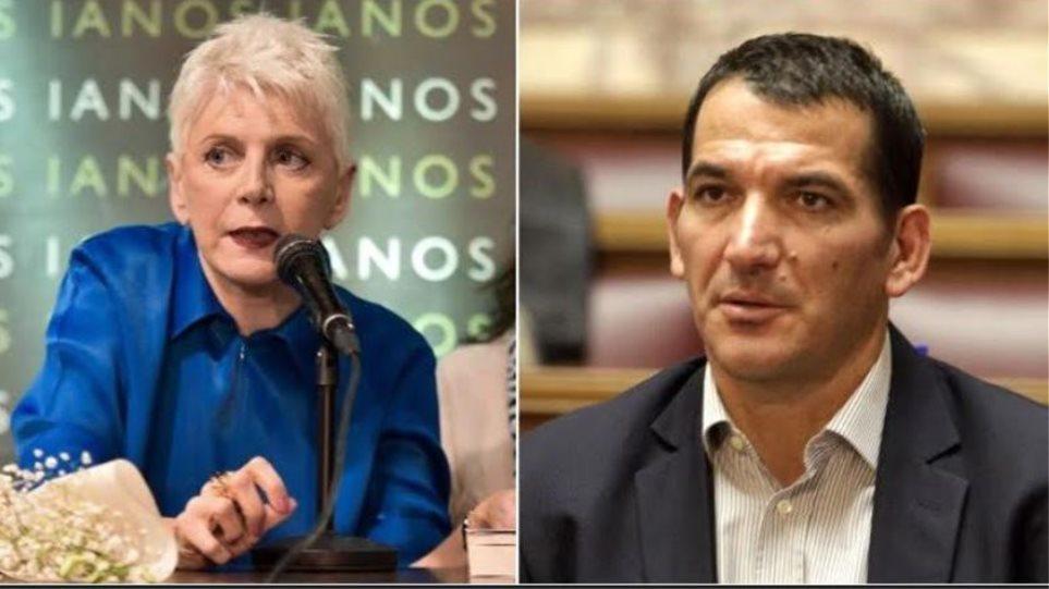 Πύρρος Δήμας: Eίμαι Έλληνας, δεν είμαι αλβανικής καταγωγής, κυρία Ακρίτα!